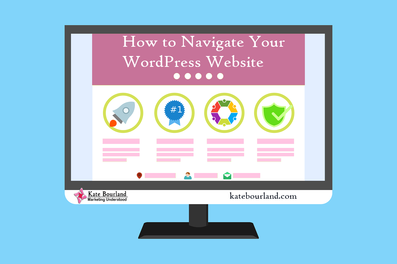 How to Navigate Your Wordpress Website