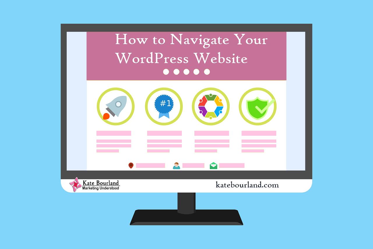 How to Navigate Your Wordpress Website