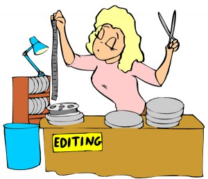 editing vs. publishing